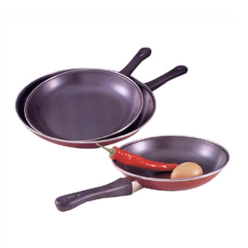 3pc Frying Pan Set w-Euro Handles