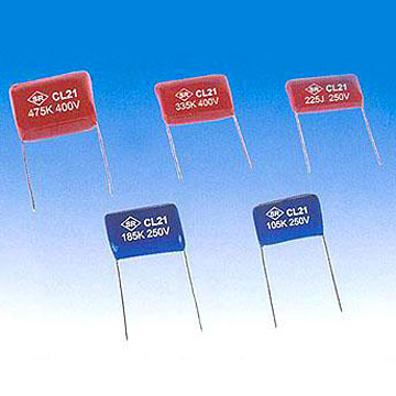 Metalized Polyester Film Capacitors