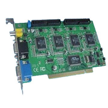 CCTV Digital Video Card with 4-16 Channels Video Input