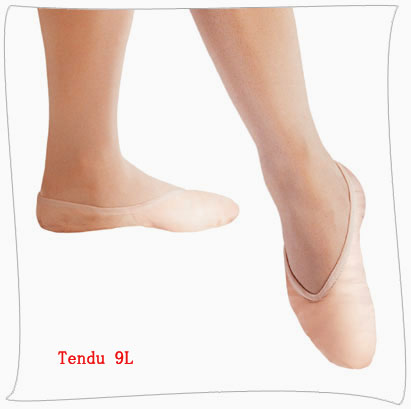 Ballet shoes-leather upper