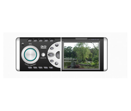 "Car DVD player with 3.5""  lcd Tv,Dvd350"