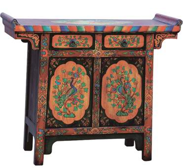 Tibetan antique wooden furniture