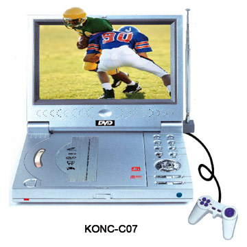Portable DVD Players with TFT LCD with TV