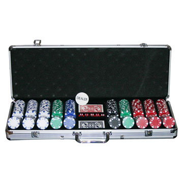 Poker Chip Sets 500 Pieces