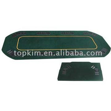 Rectangle Shaped Poker Table Top