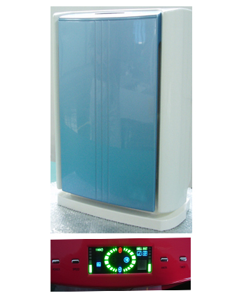 HEPA Air Purifier with Ionizer