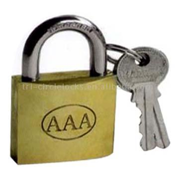 Polished Brass Polished Brass Padlock