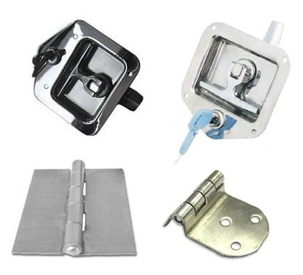 Folding T Handle Locks & Hinges Truck Fittings