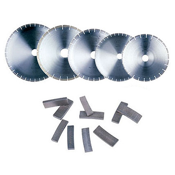 diamond cutting blade and segments