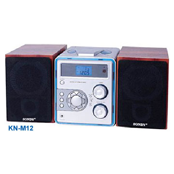 Micro System with CD-MP3 Players