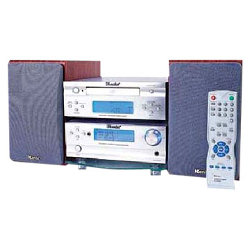 DVD Player with Amplifiers
