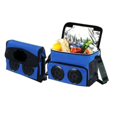 Cooler Bag with 2 Speakers