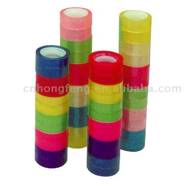 Color Stationery Adhesive Tape