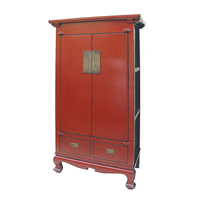 2doors 2drawers high cabinet