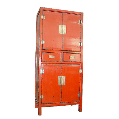 4drawers 2doors high cabinet