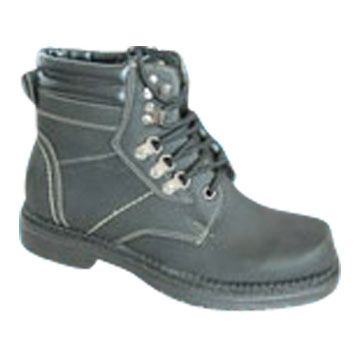 PVC Injection Men's Work Boots