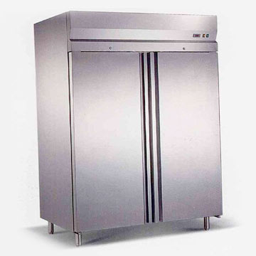 Two-Door Commercial Freezer w-Single Tem