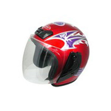 Open-Face Helmet