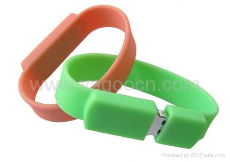 Wrist Band with USB memory stick