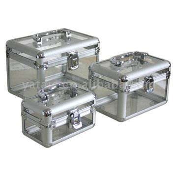 Transparent Cosmetic Case Sets