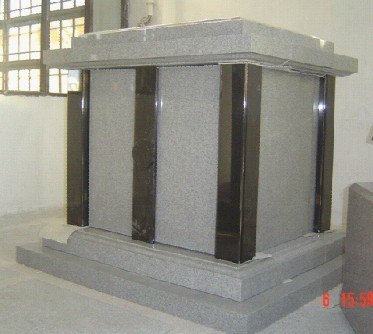 Korea style tombstone and monument003