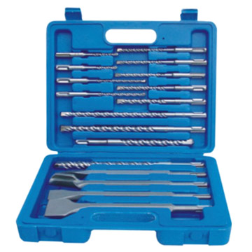 17pcs SDS Drill Bit Sets