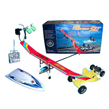 Radio Control 3 In 1 Set