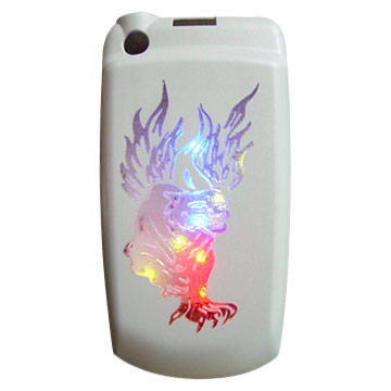 Flashing Mobile Phone Back Cover