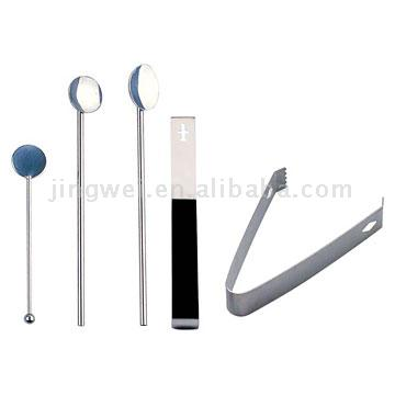 Stirrer and Ice Tongs