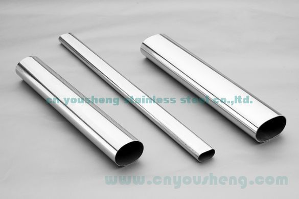 stainless steel oval tube / pipe