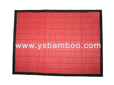 stain bamboo lunchmat natural