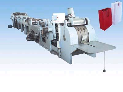 paper shopping bag making machine equipment