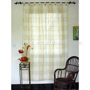 Polyester Linen Curtain