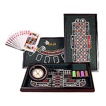 3 In 1 Casino Set